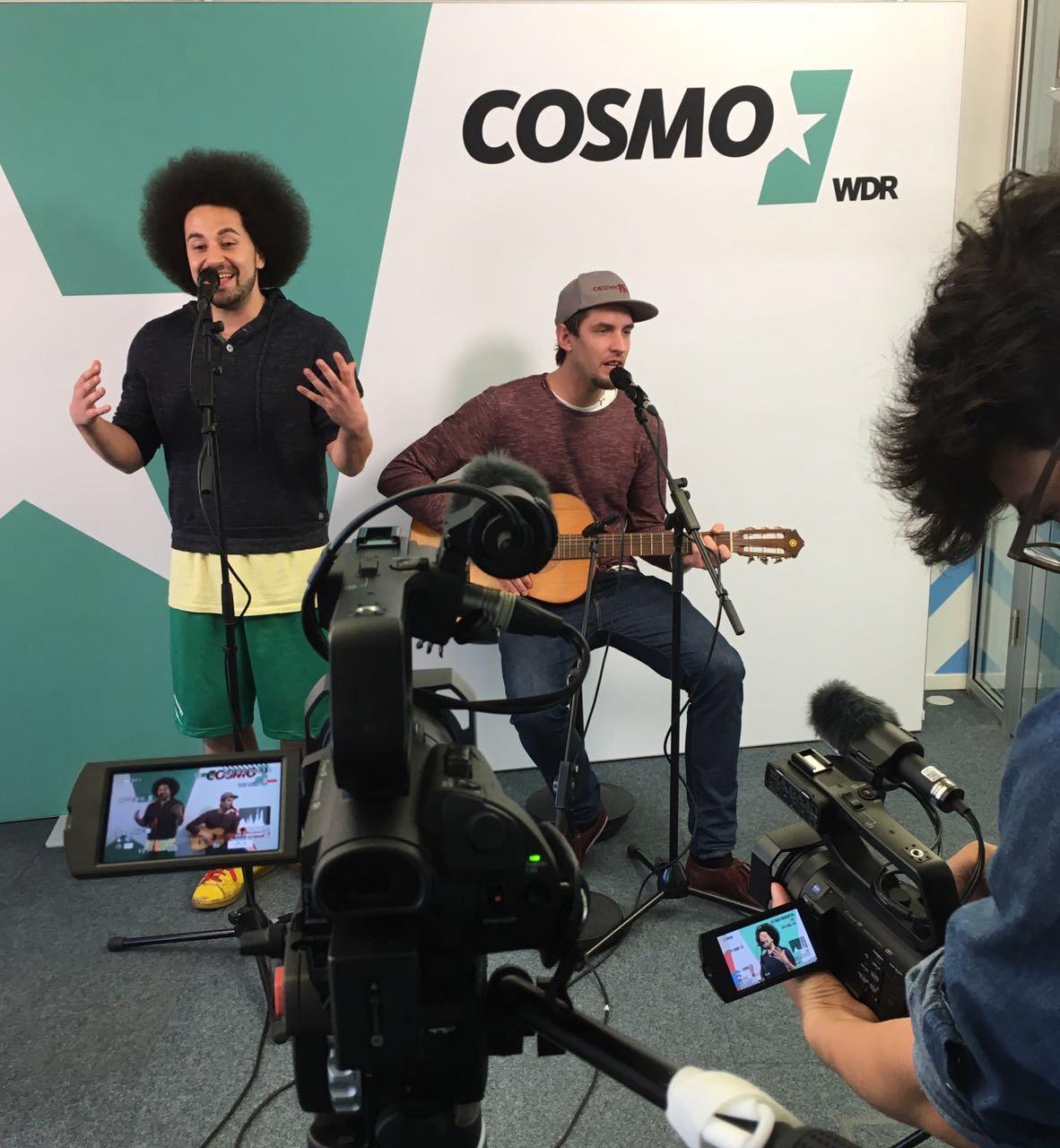 Zu Gast bei WDR Cosmo